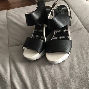 Juicy couture wedges
